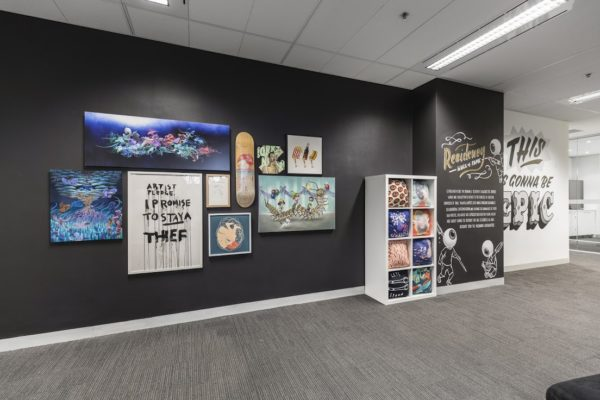 Just Another Agency - Redbubble - Internal Murals