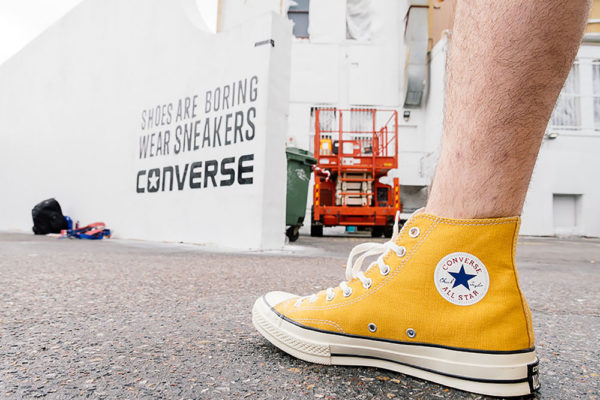 Just Another Agency - Converse Clash Wall