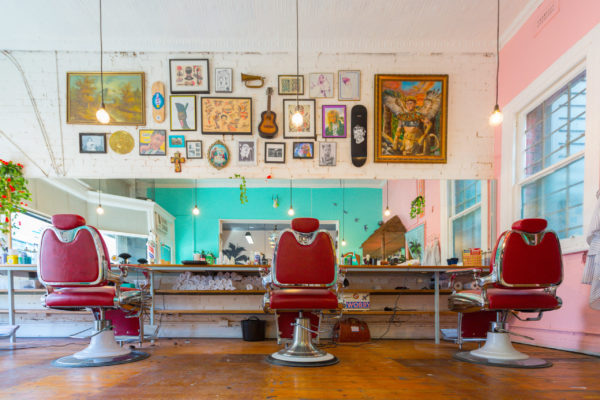Just Another Agency - Little Rebel Barbershop
