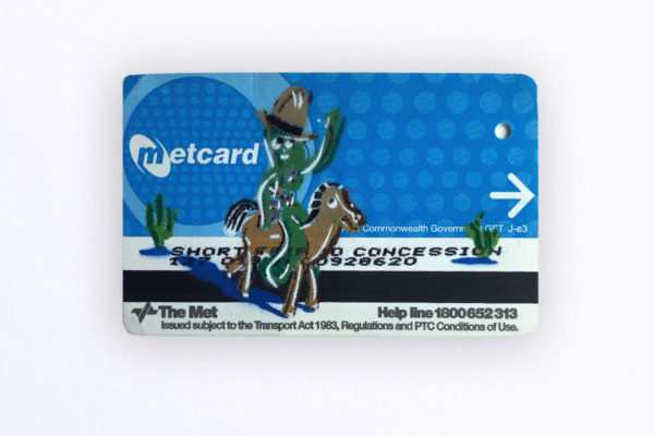 Just Another Agency - Metcard No Return - 23rd Key