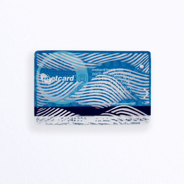 Just Another Agency - Metcard No Return - Dominic Tarranto