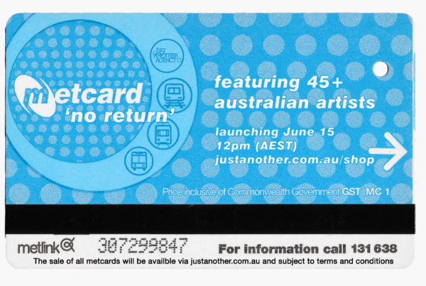 Just Another Agency - Metcard No Return