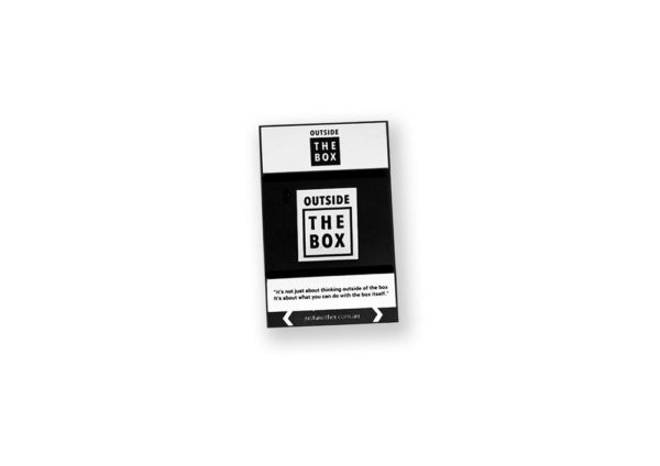 Just Another Agency - Outside the Box Enamel Pin